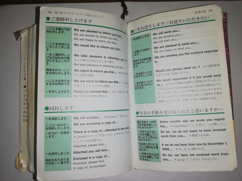 携帯版 英会話とっさのひとこと辞典のデメリット