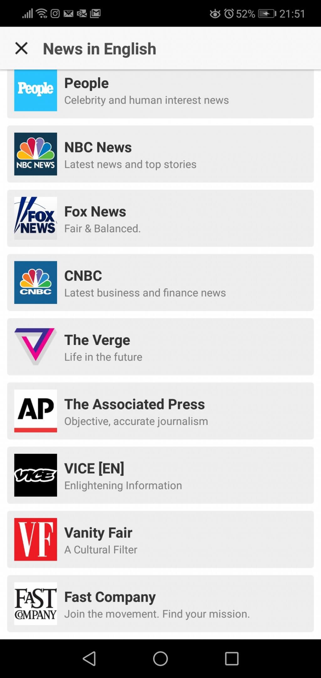 スマートニュースのチャンネルに英語ニュースを追加する方法
